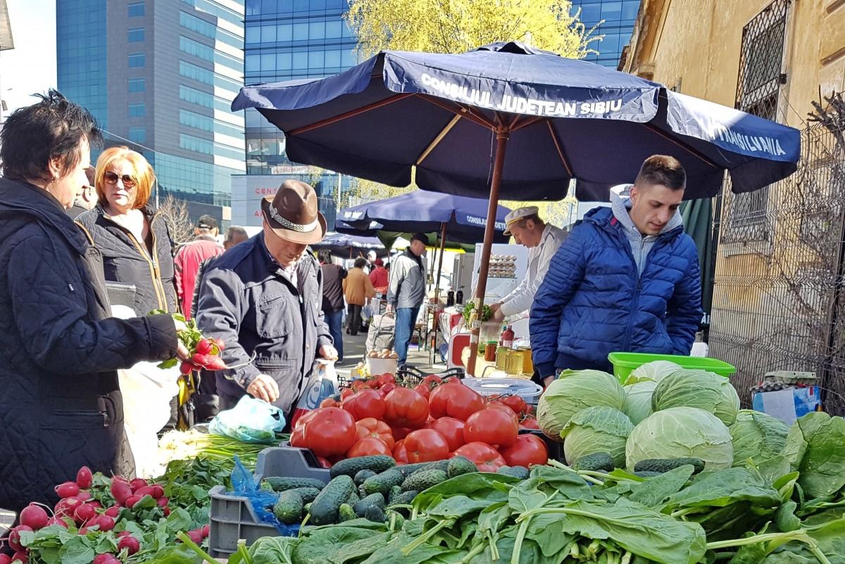 Piața țărănească de la Sala Transilvania va avea și o insulă a obiceiurilor populare