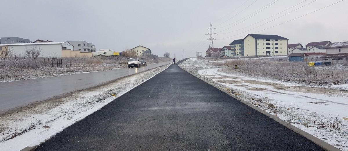 Pista de biciclete care leagă Cisnădia de Sibiu va fi construită anul acesta