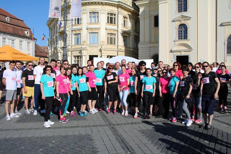 Peste 90 de angajați de laPolisano aleargă la maraton