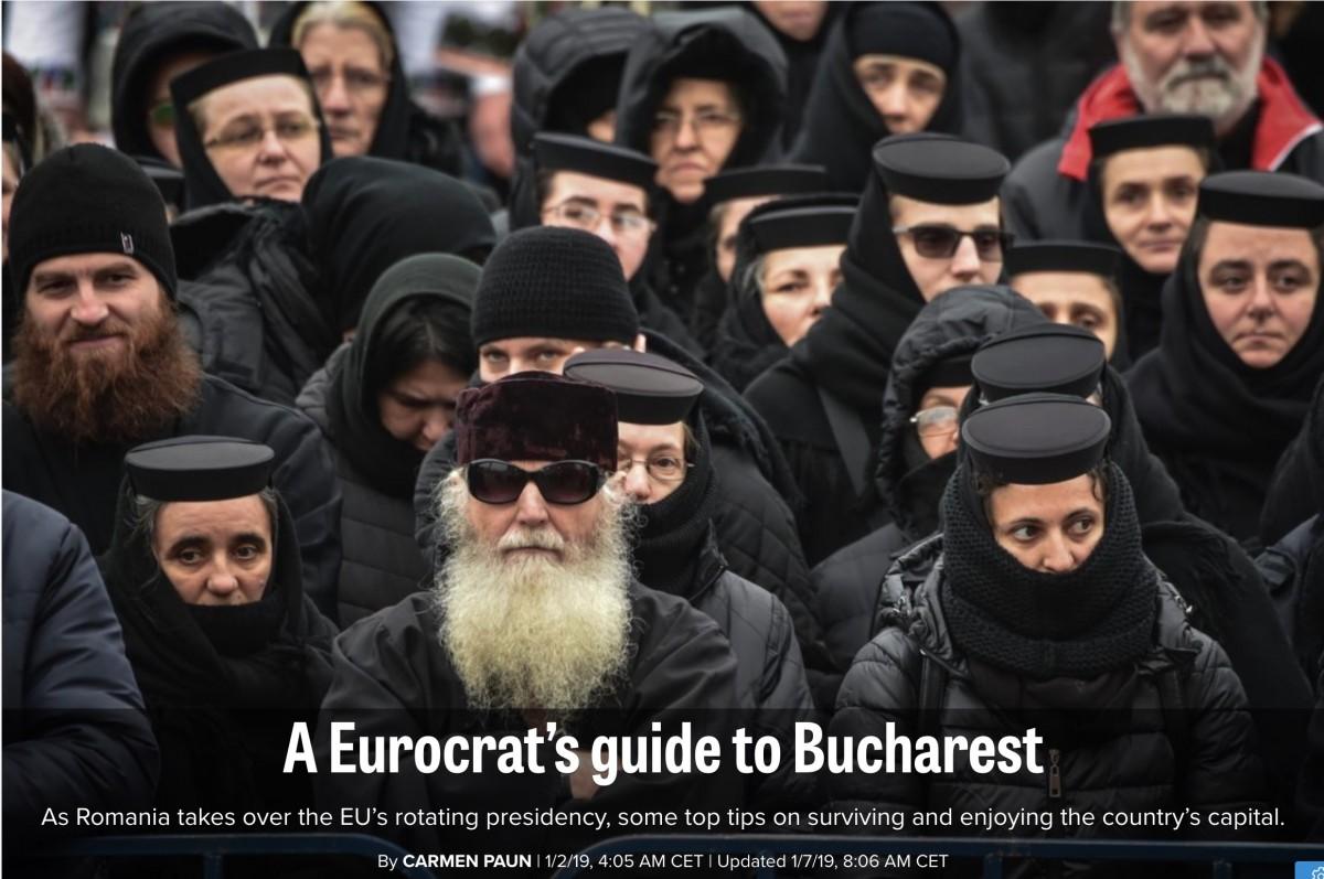 """Ghid pentru """"eurocrați"""". """"Sibiul oferă, față de București, o atmosferă diferită"""""""