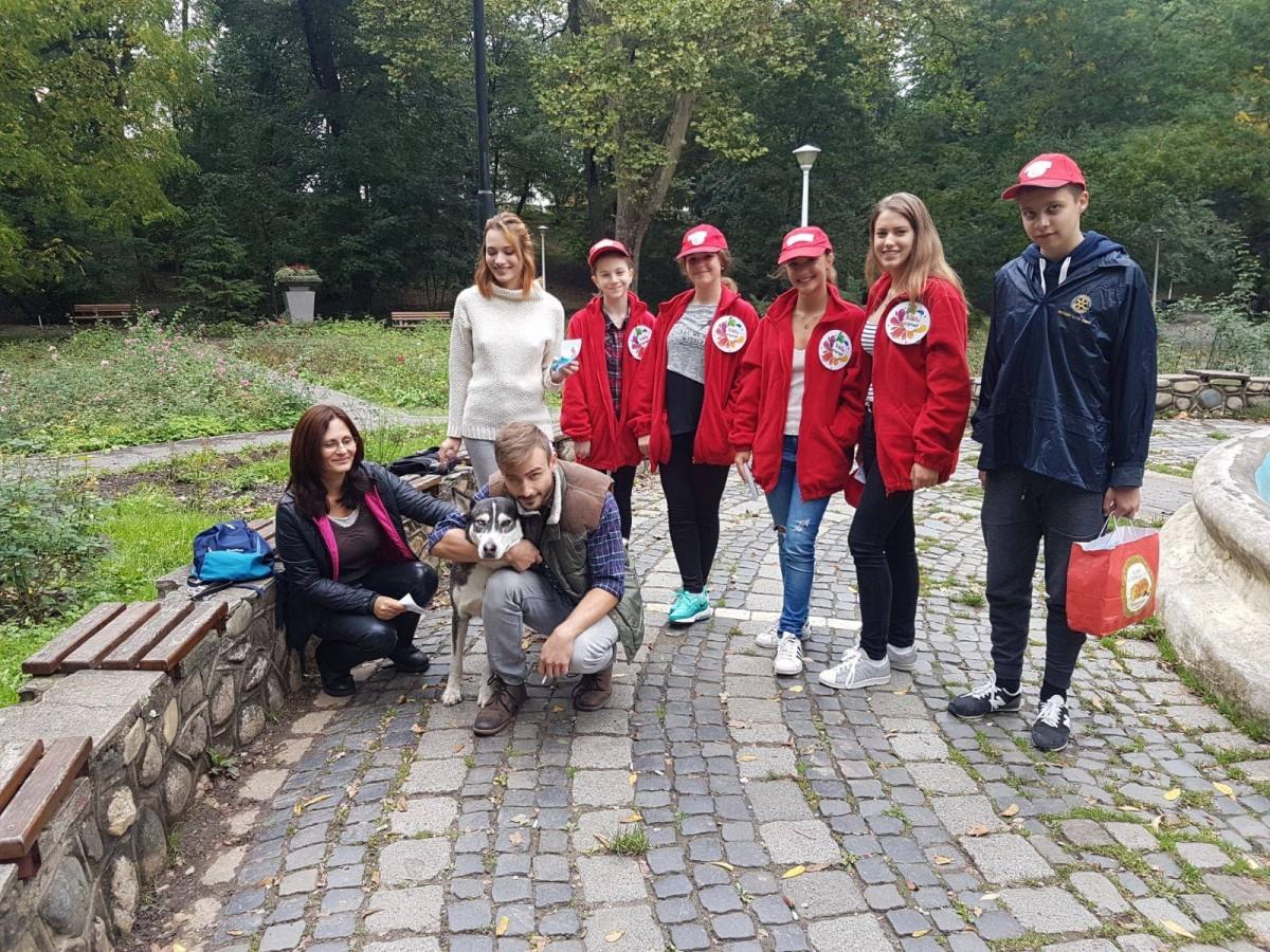 "Proiect Rotary Club, ""Pentru un Sibiu curat"""