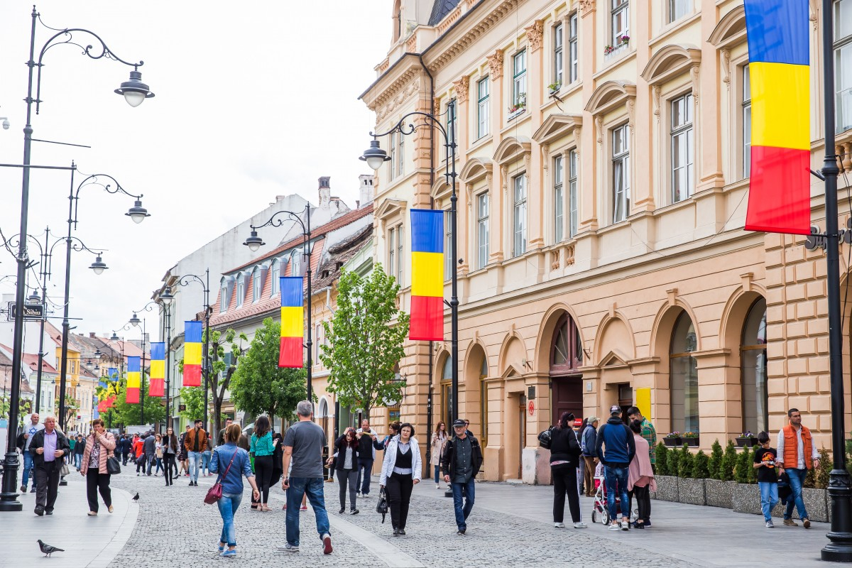 GALERIE FOTO - Cum arată Sibiul pregătit de Summitul UE