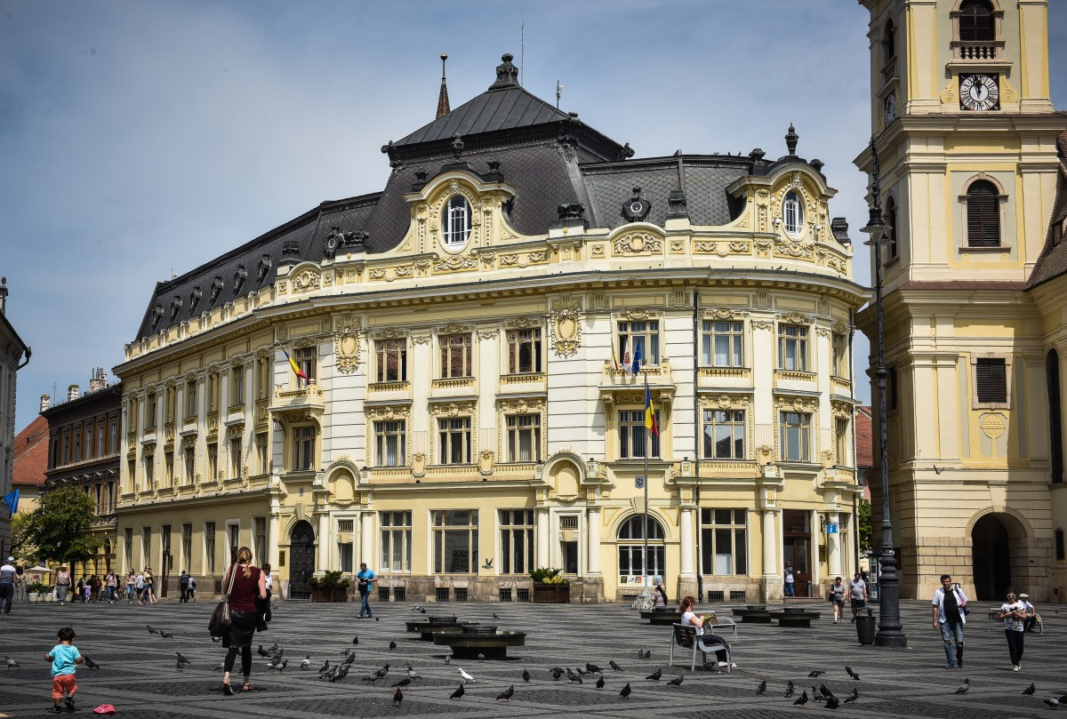 Primăria Sibiu invită voluntari pentru Centrul de Informare Turistică