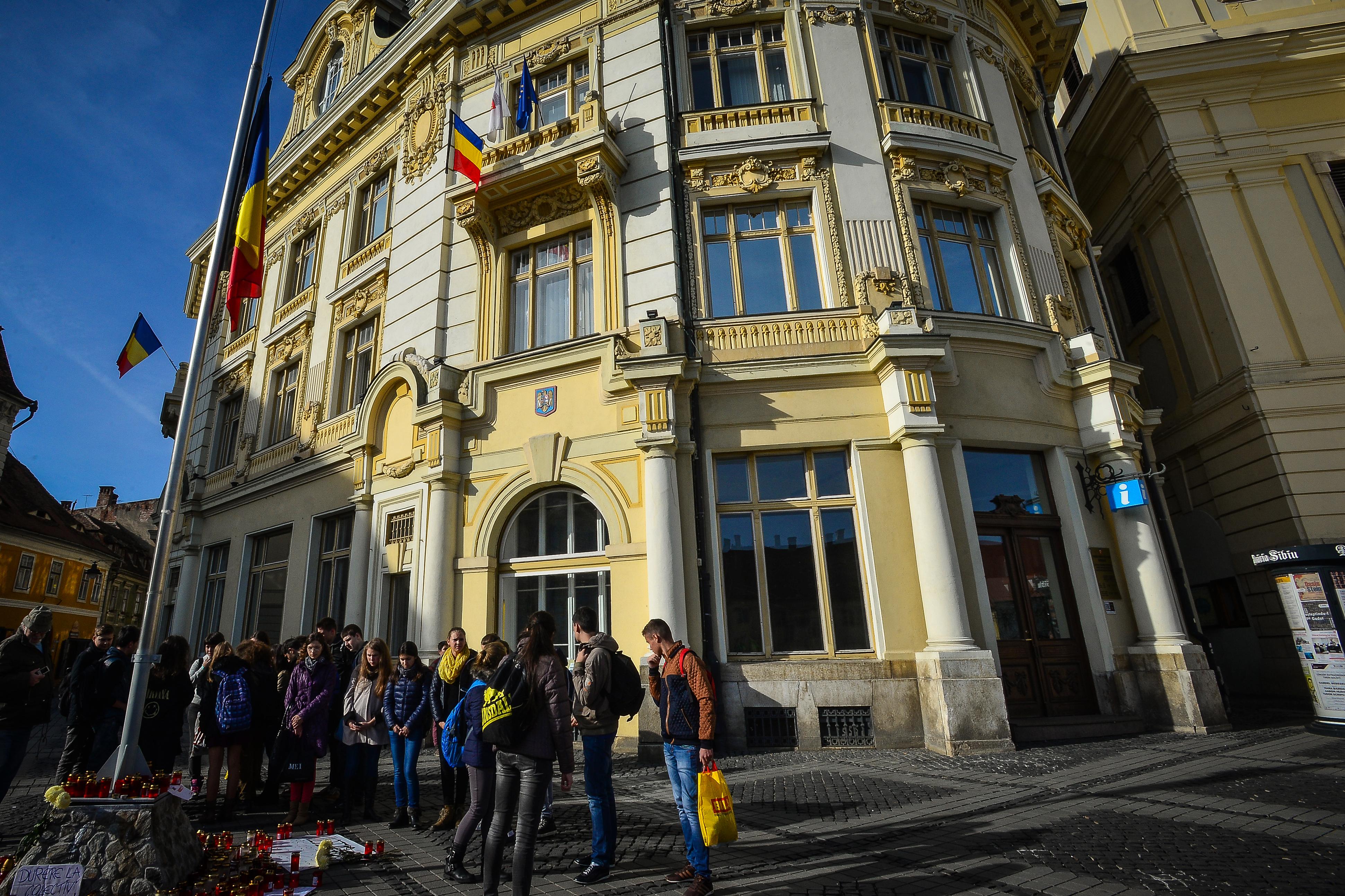 """Primăria Sibiu nu respectă normele PSI! """"I-am amendat și anul trecut și anul acesta"""""""