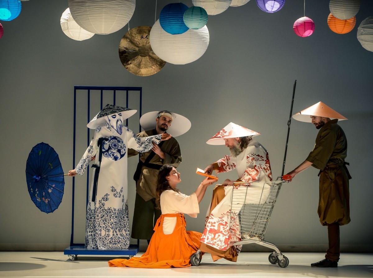 Premieră de Ziua Mondială a Teatrului, la Gong!