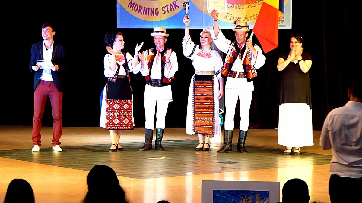 """Junii Sibiului au câștigat marele premiu al Festivalului """"Morning Star"""""""