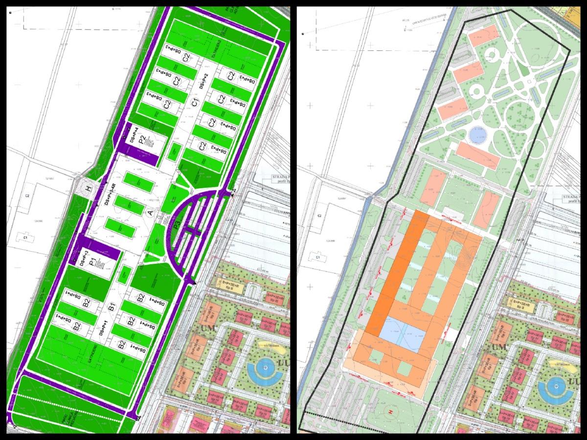 Sibienii suntinvitațila dezbaterea urbanistică a noului spital județean. Cu două propuneri de amenajare