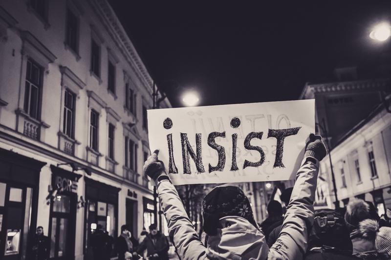 """Sibienii sunt chemați la un nou protest. """"Noi nu avem opoziție, aici este problema"""""""