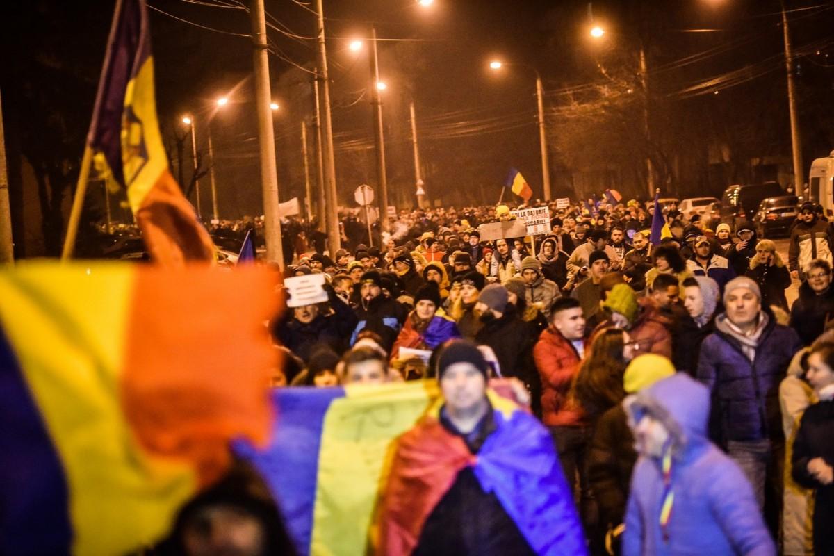 Protestele sibienilor au fost avizate până pe 15 februarie