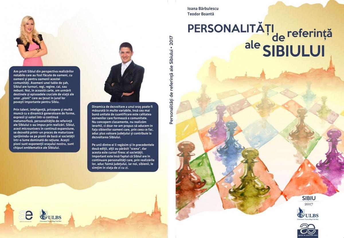 """""""Personalități de referință ale Sibiului"""" se lansează în cadrul unei gale oficiale"""