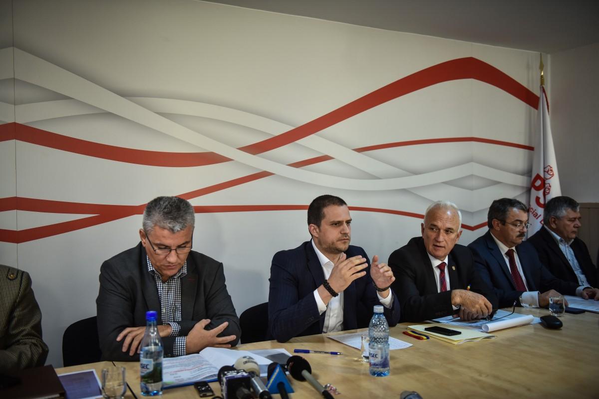"Alegerile PSD Sibiu, la ""Veneția"""