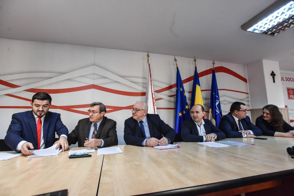 PSD Sibiu una spune în comunicate de presă și alta face la vot