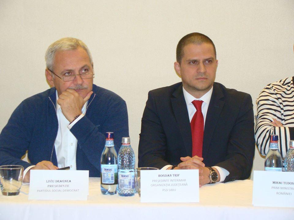 Liviu Dragnea vine în Sibiu. Însoțit de Codrin Ștefănescu