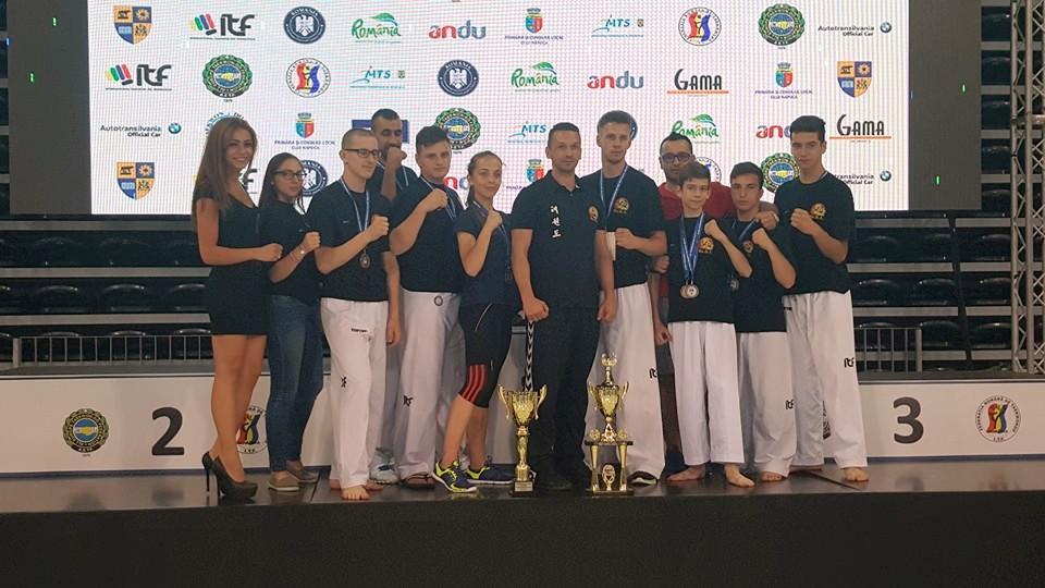 PUMA Club Sibiu, pe podium la Cupa Europei