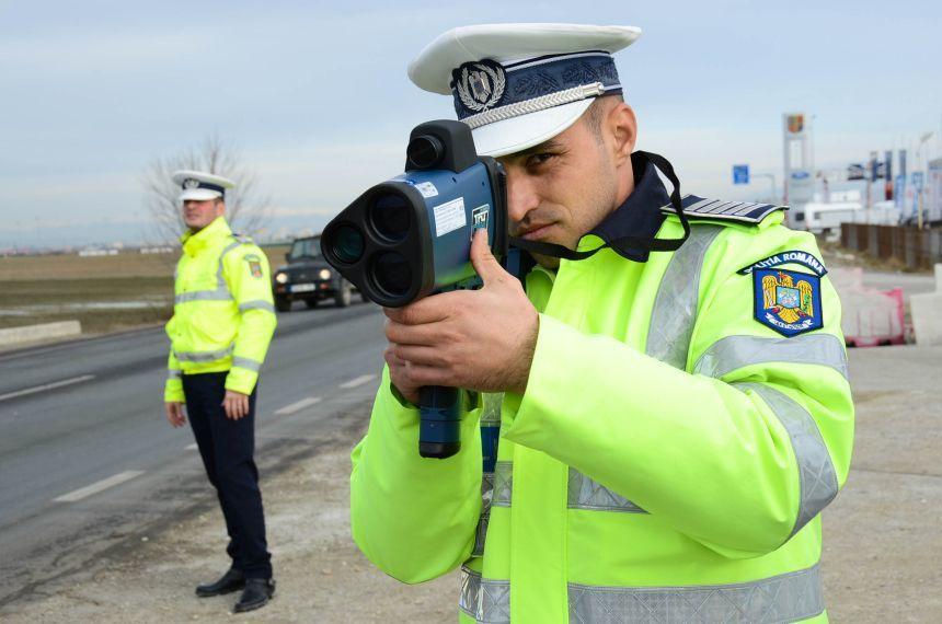 Propunere PNL: radare doar pe mașinile marcate ale poliției rutiere