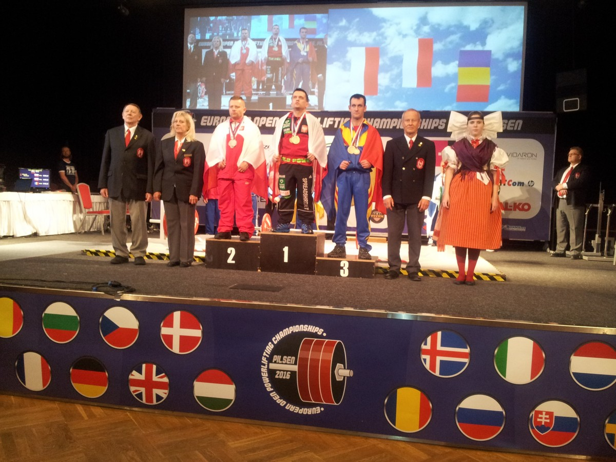 Rezultatmare pentru CS Activ, la Campionatele Europene din Cehia. Radu Raica, medaliat cu bronz