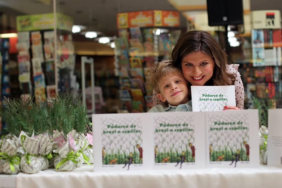Sibianca Raluca Faloba și-a lansat a doua carte pentru copii