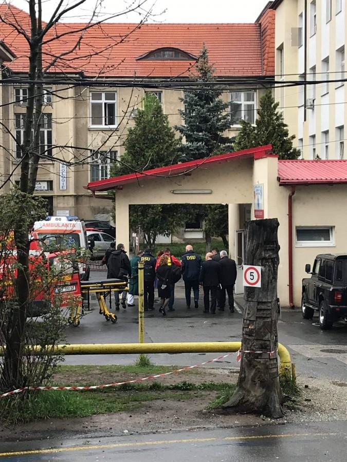 Desfășurare impresionantă de forțe în centrul Sibiului. Cel mai sigur oraș din Europa