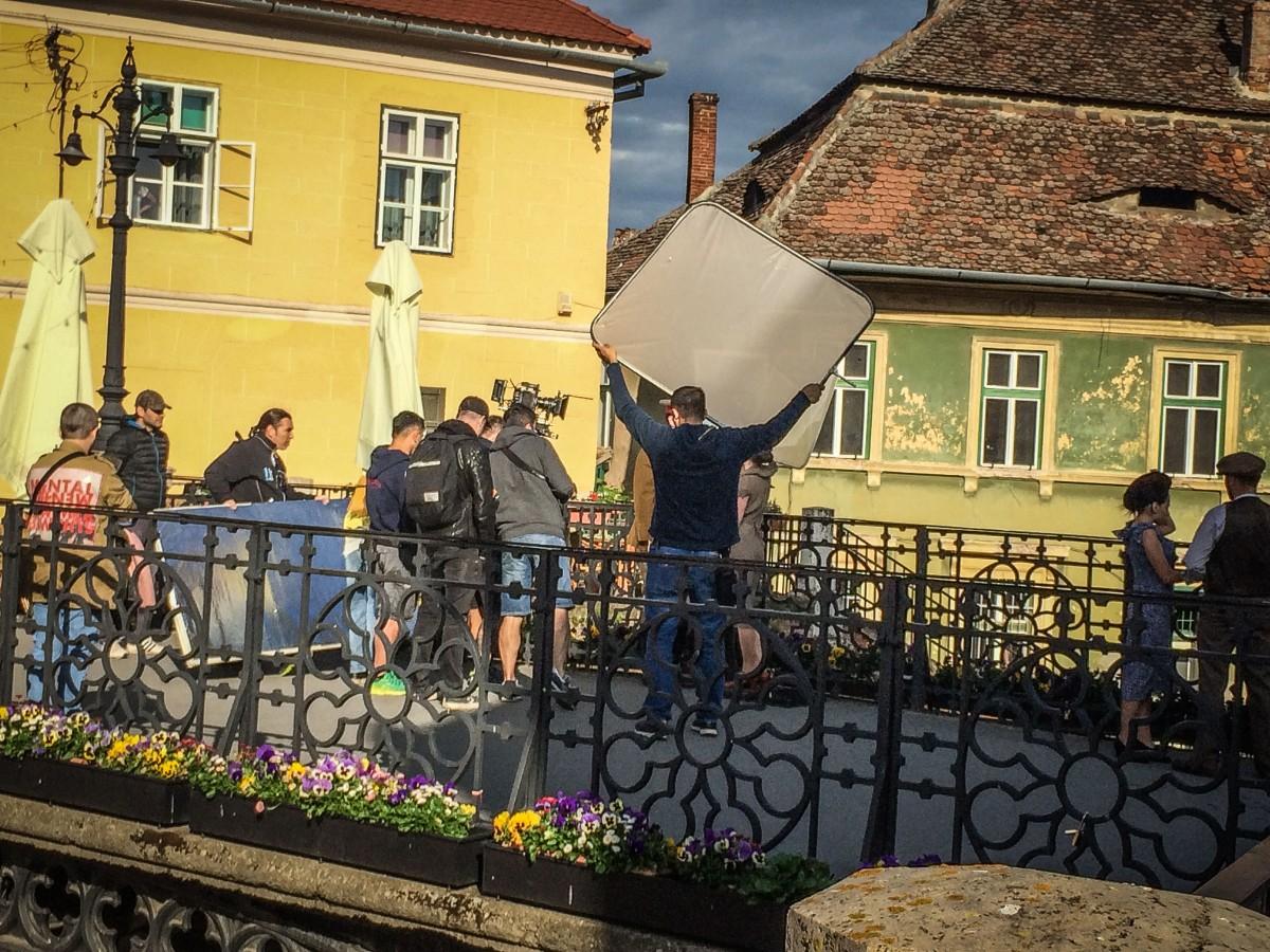 Centrul istoric al Sibiului, vedetă într-o nouă reclama națională