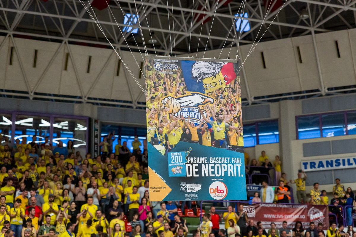 Sibiul a intrat în Cartea Recordurilor.CSU Fans Magazin, cea mai mare revistă din lume