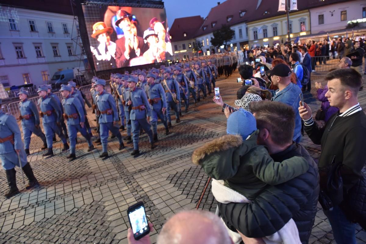 VIDEO Repetiție generală. Cum celebrează Sibiul Centenarul Marii Uniri
