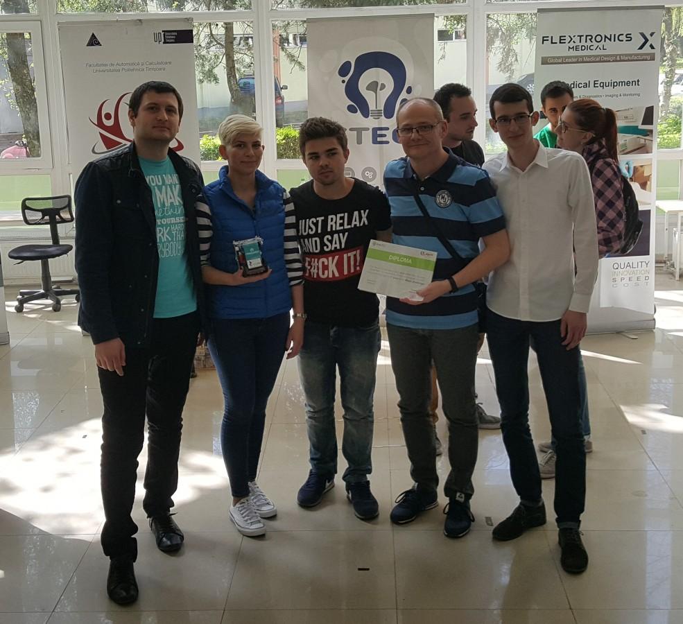 Studenții ULBS au fost medaliați la Concursul Internațional de Robotică