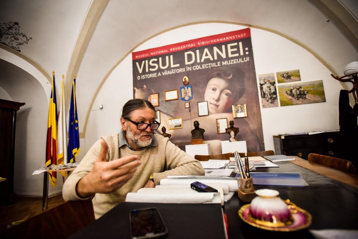 Sabin Luca, directorul Muzeului național Brukenthal, chemat la Comisia de etică a ULBS pentru plagiat