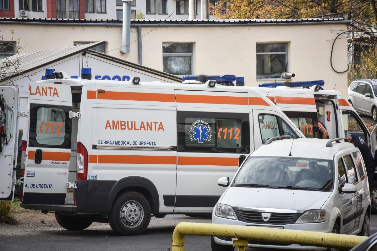 O sibiancă a ajuns la spital după ce a căzut cu motocicleta