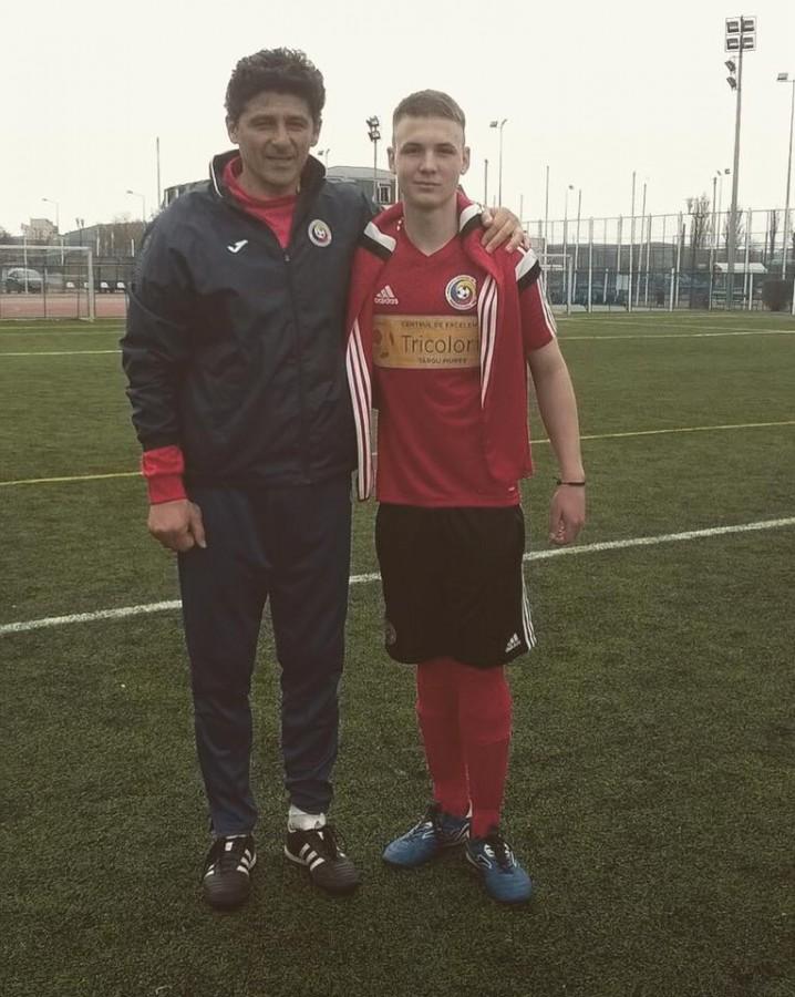 Sibianul Carlos Scarlat a fost convocat la România U-17, pentru un turneu internațional în Polonia