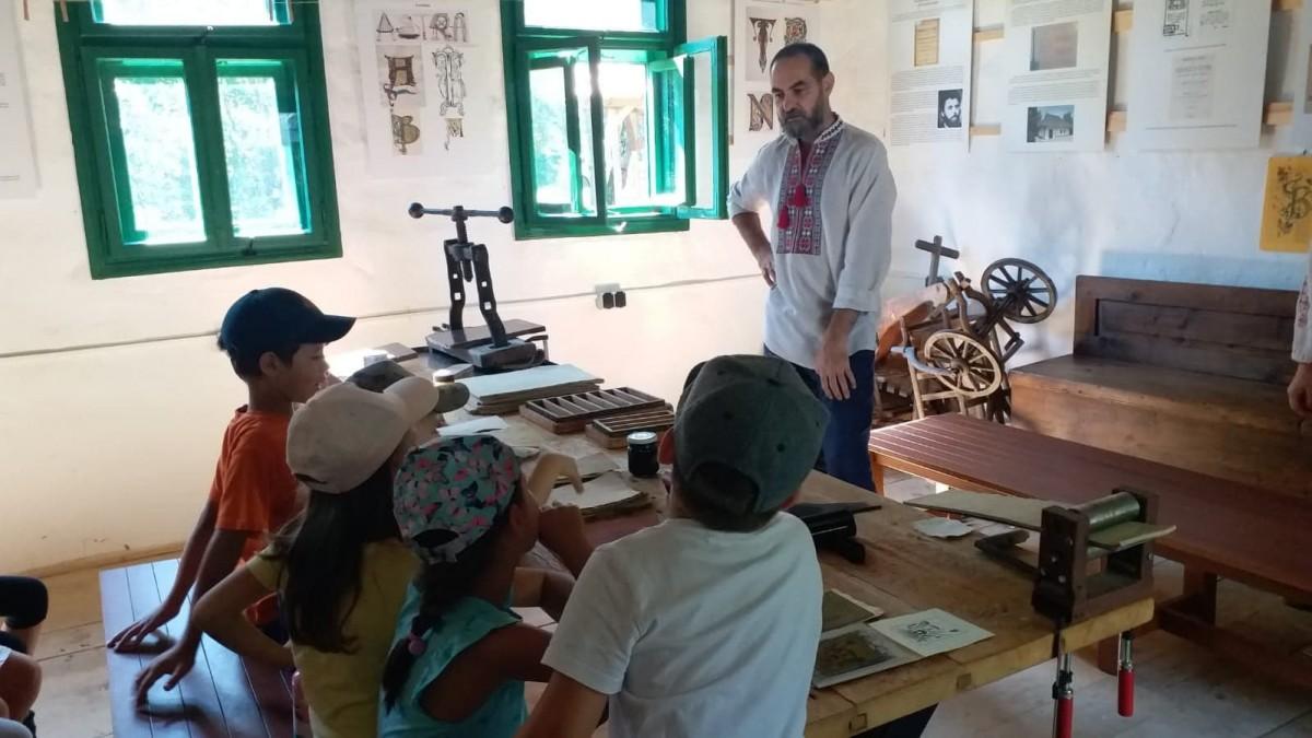 Ateliere pentru copii la Muzeul Astra, toată săptămâna