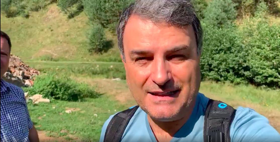 ACTUALIZARE Lucian Mândruță iar a găsit gunoaie la Rășinari.Ce spune primarul