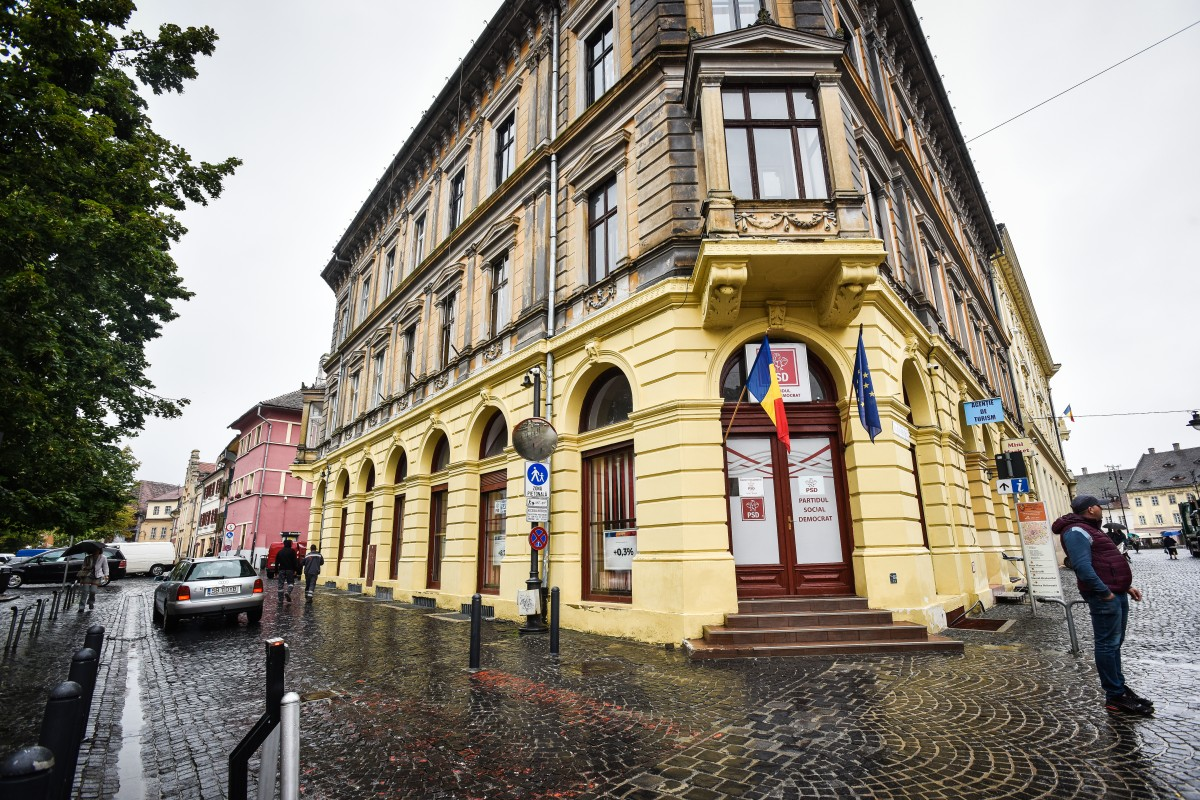 Alegeri la PSD Sibiu,