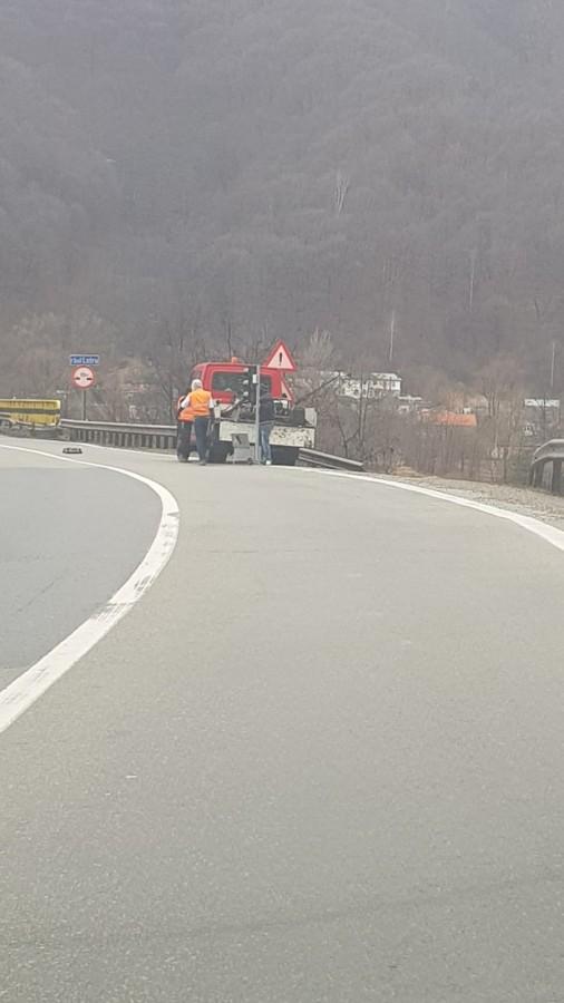 Restricții de circulație pe Valea Oltului. Trafic dirijat prin semafoare