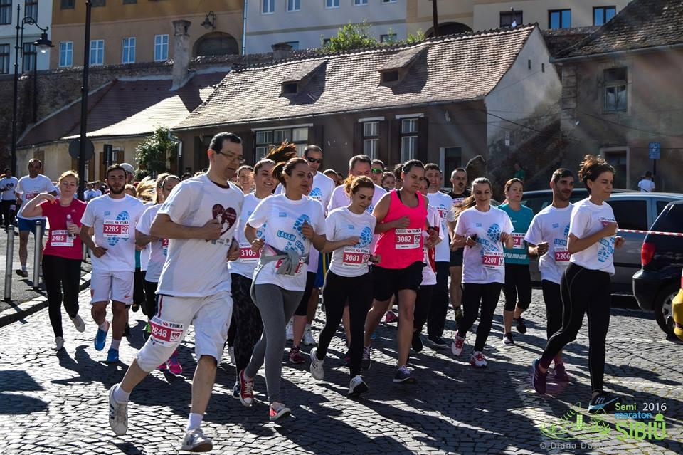 Proiectele pentru care se aleargă la Maratonul Sibiu 2017