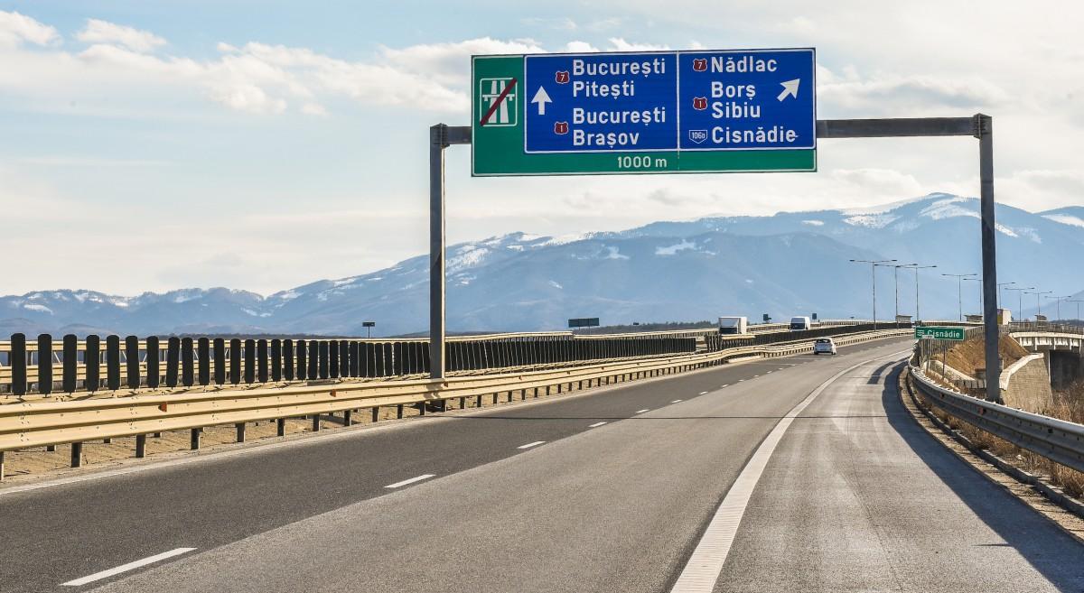 Un nou lot de autostradă, util pentru sibieni, inaugurat anul acesta