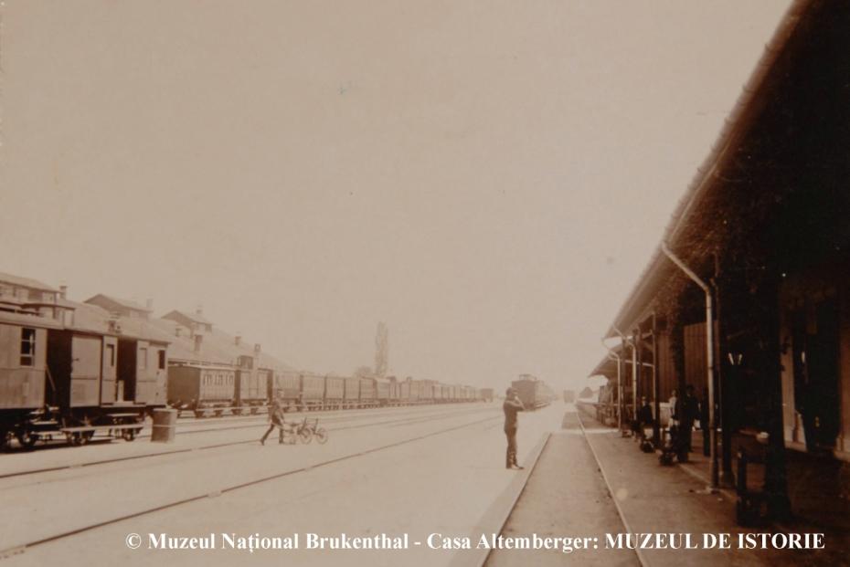Cu ce viteză circulau trenurile la Sibiu acum 100 de ani