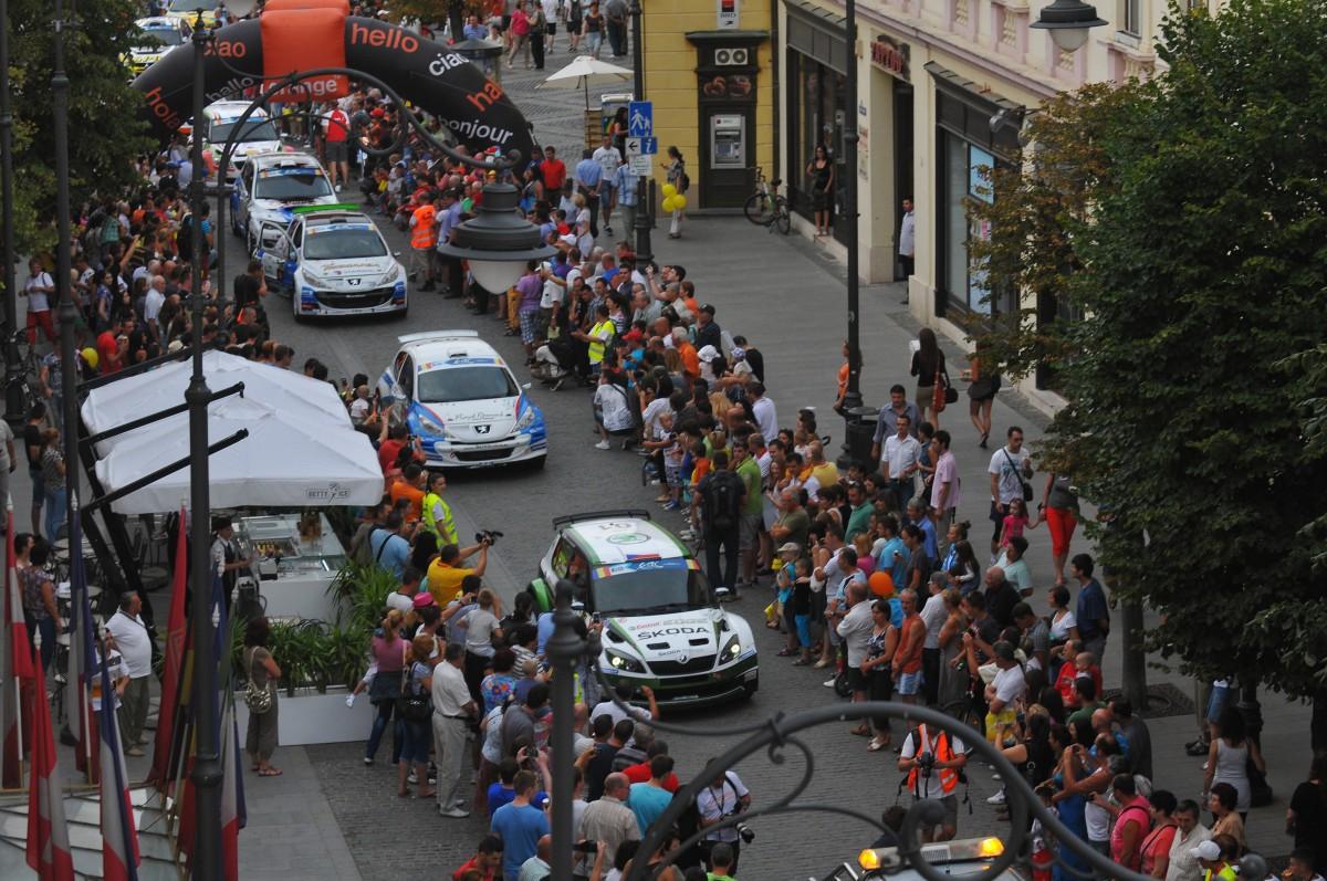 Ferrari, Porsche sau Rolls-Royce, pe grila de start de la Sibiu Rally Challenge