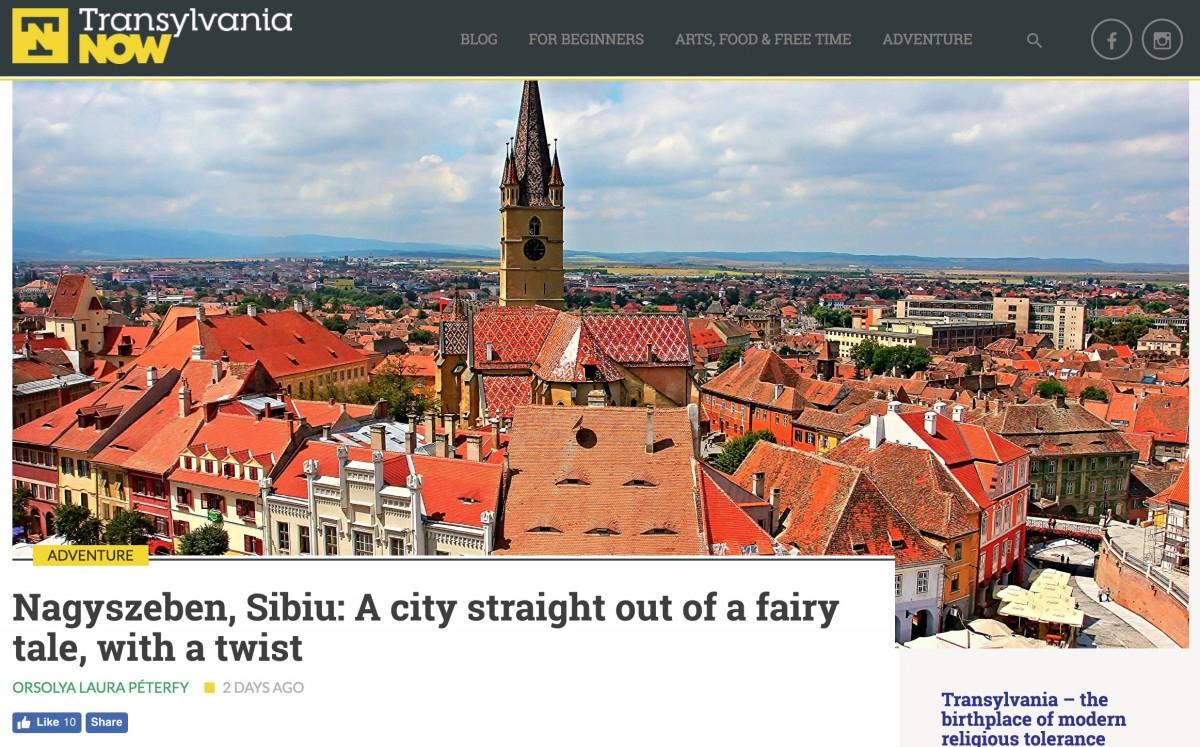 """Sibiul, pe un site de promovare turistică, gestionat de UDMR: """"Experiența îngrozitoare de împărțire a teritoriului Ungariei..."""""""