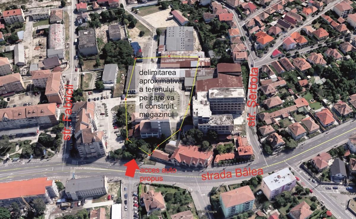 Noul supermarket din coasta centrului istoric a trecut de consultarea publică: nicio obiecție