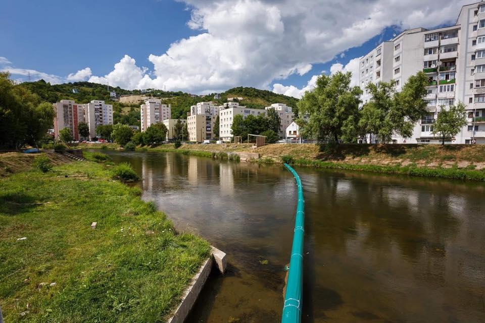 Propunere la Primăria Sibiu: să curățăm râul Cibin așa cum se întâmplă la Cluj cu Someșul