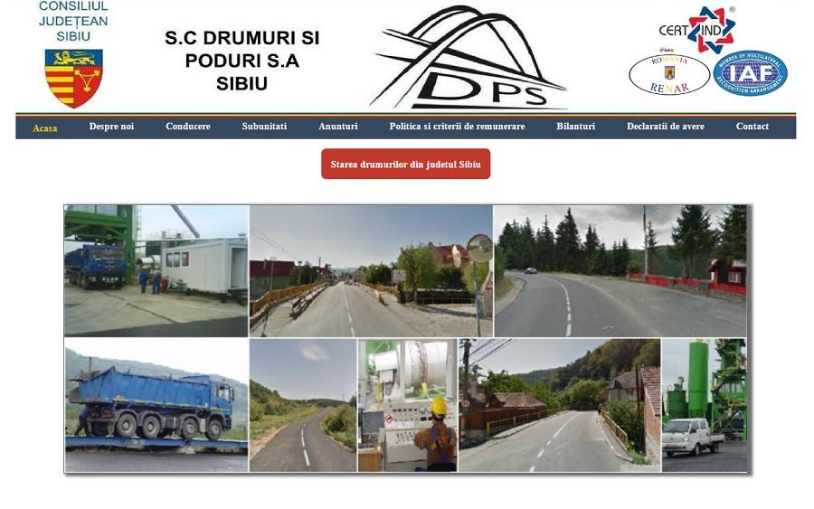 Firma Consiliului Județean a primit contractul de modernizare a trei străzi din Sibiu