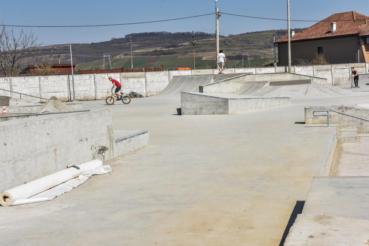 Un milion de euro. Skate park-ul din zona Obor va fi inaugurat vineri