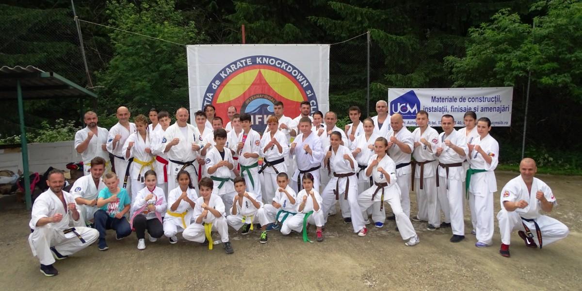 Cupa României la Karate Kyokushin a rămas la Sibiu