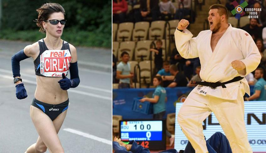 Doi sportivi sibieni calificaţi la Olimpiada de la Rio. Ce obiective au judokanul Daniel Natea și atleta Daniela Cîrlan