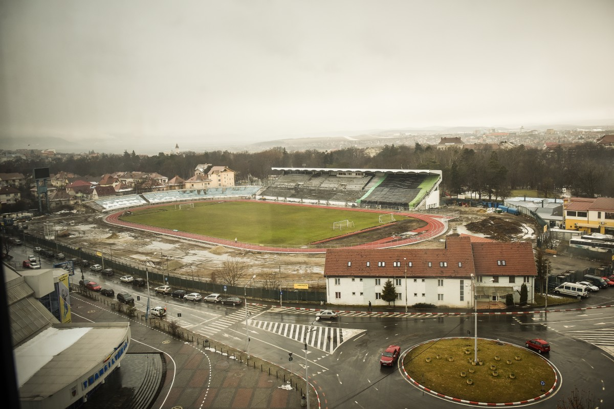 """Primarul Astrid Fodor, despre reabilitarea stadionului: """"nu pot să vă răspund când va fi gata"""""""