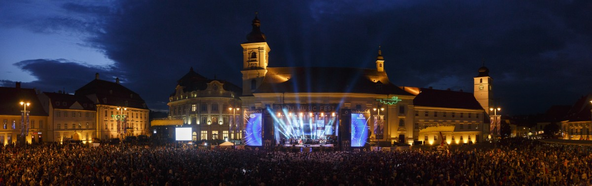 Peste 30.000 de spectatori au cântat împreună cu artiștii lor preferați la Sibiu Music Fest