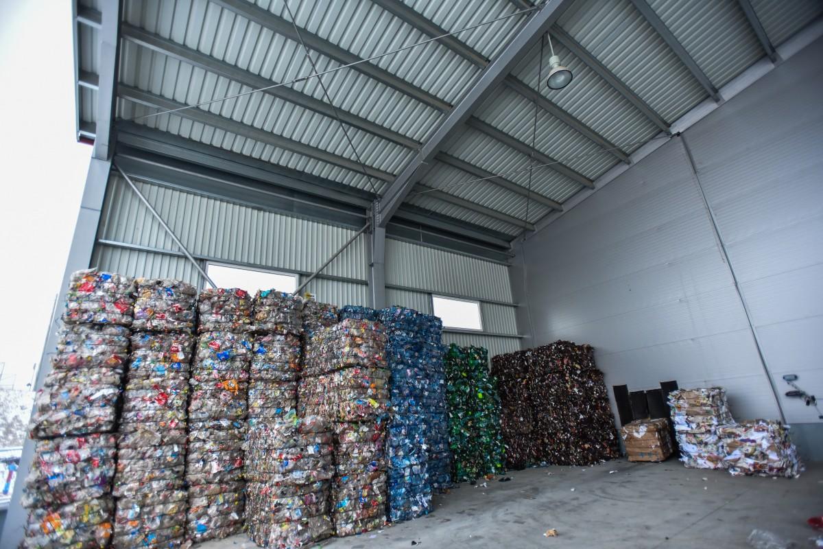 Sibiul colectează selectiv. Stația de sortare și compostare funcționează fără întrerupere (P)