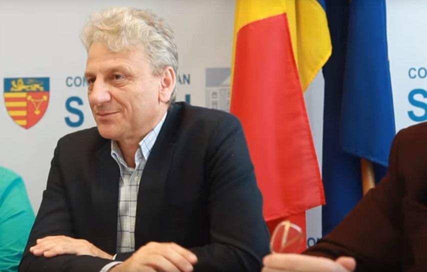 Ștefan Firu a revenit la conducerea Inspectoratului Școlar al Județului Sibiu