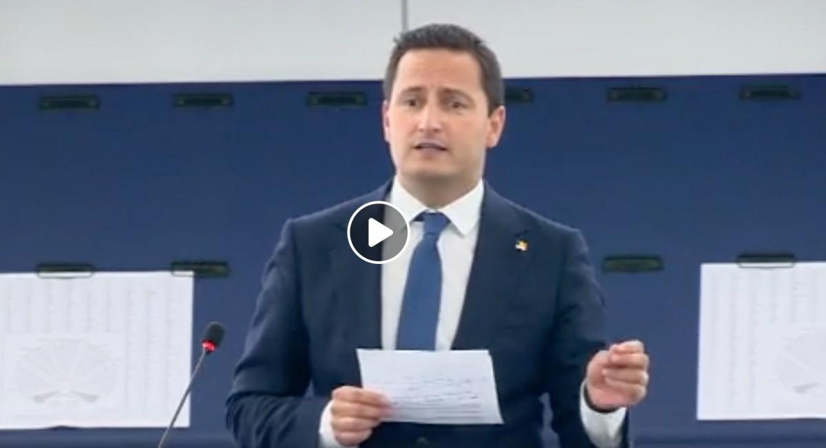Sibiul, amintit de Nicu Ștefănuță la primul discurs în PE. Admonestat de Maria Grapini