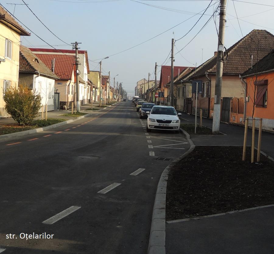 Sibiu: ultimele străzi din fonduri europene, recepționate